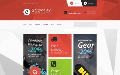 Thème Extremex WooCommerce
