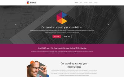 Drafting Room Website Template