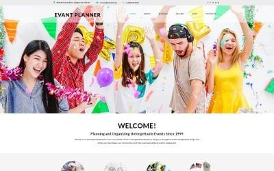 Event Planer - Event Planner Clean Joomla Template