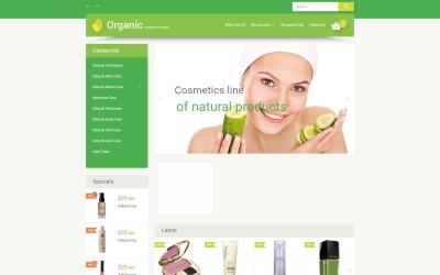 Organic Cosmetics OpenCart Template
