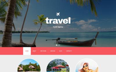 Modèle Drupal réactif pour agence de voyage