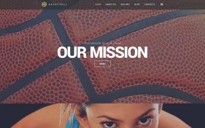 Basketball Jam WordPress-tema
