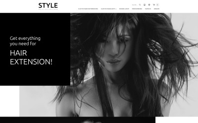 Hair and Beauty Salon OpenCart Template