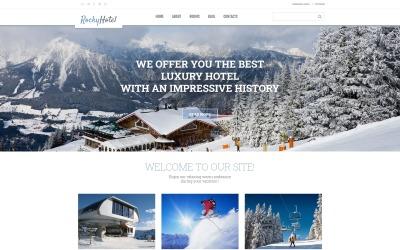 RockyHotel - Тема багатофункціонального сучасного WordPress Hotel