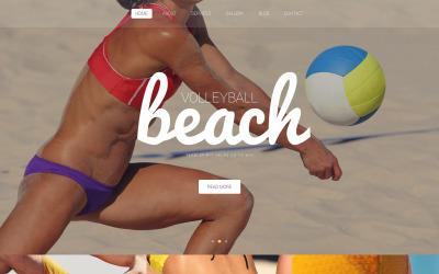 Thème WordPress du Beach Volleyball Club