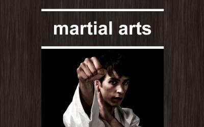 Martial Arts Responsive Newsletter Template
