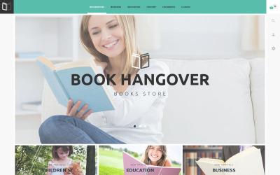 Tema PrestaShop del sitio web gratuito para libros