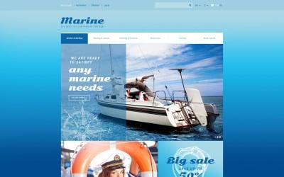 Marine Store Magento Theme