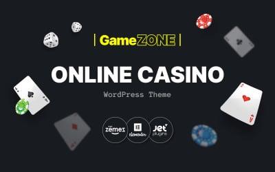 GameZone - Online kaszinó WordPress téma