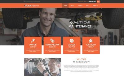 Modelo de Joomla de conserto de carro
