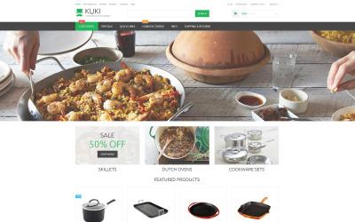 Responsive ZenCart-Vorlage für Haushaltswaren