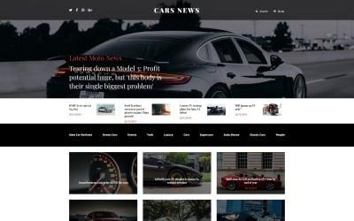 Cars News Joomla Template