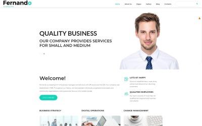 Fernando - Consulting Template Joomla moderne prêt à l'emploi