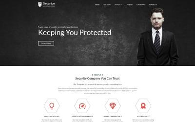 Securico - Security Responsive Modern HTML Website Template