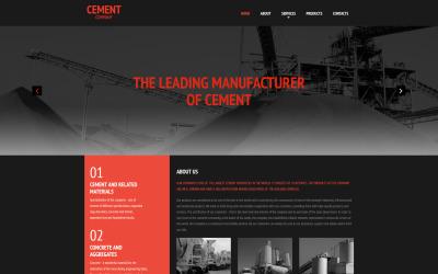 Cement Moto CMS 3 Template