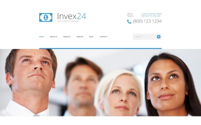 Invex24 Joomla Template