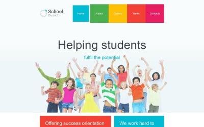 学区Joomla模板