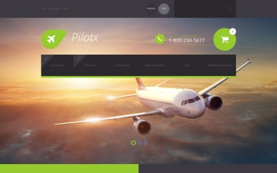 Pilotx ZenCart-Vorlage
