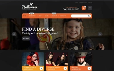 Halloween Costumes Shopify Theme
