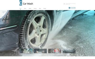Motyw WordPress dla myjni samochodowej