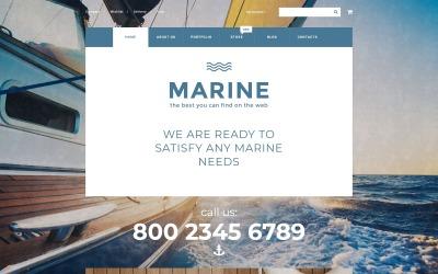 Tema Marine WooCommerce