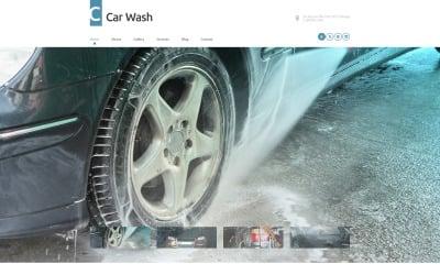 Тема WordPress для автомойки