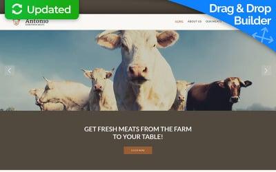 Farm Moto CMS 3 Template