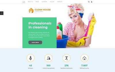 Cleaning Company Joomla Template