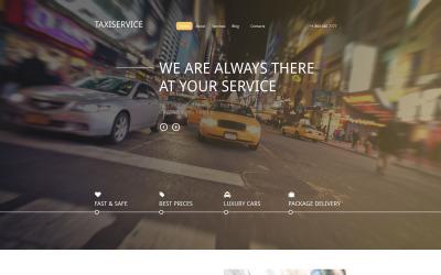 Друпал шаблон Taxiservice