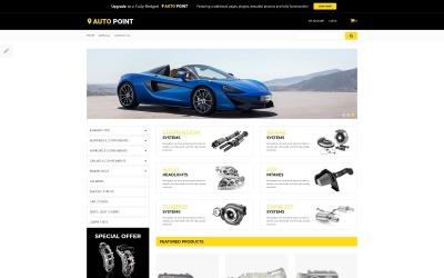 Auto Point - Автозапчастини для електронної комерції Чистий шаблон OpenCart