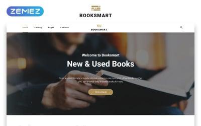 Booksmart - Books for Rent Modern Multipage HTML5 Website Template