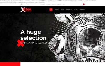 MMA WooCommerce-thema