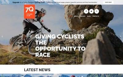 7Q - Modello Joomla a tema Joomla creativo gratuito in bicicletta