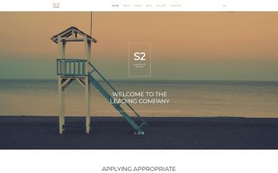 Шаблон бізнес-компанії S2 Joomla