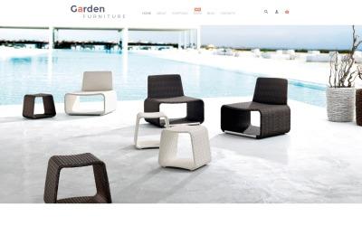 Tema WooCommerce de muebles de jardín