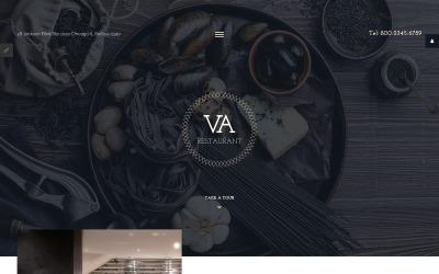 VA Restaurant Joomla Vorlage