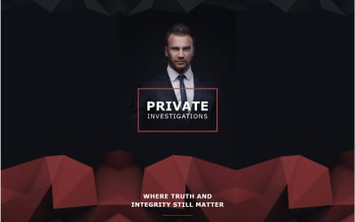 Private Investigator Responsive Newsletter Template