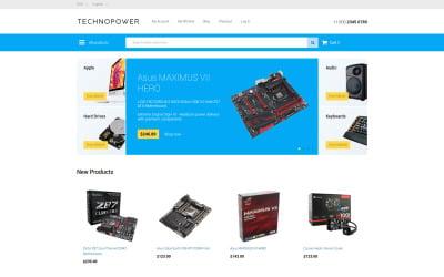 Techno Power Magento Theme