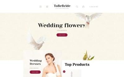 ToBeBride OpenCart Template