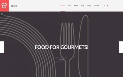 Cooking Responsive Joomla Template