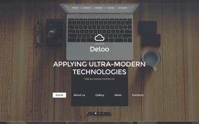 Web Design Responsive Website Template