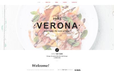 Italian Restaurant Muse Template