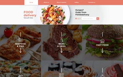 Cateringová responzivní webová šablona