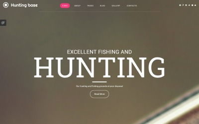 Modèle Joomla de chasse
