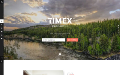 Timex Website-sjabloon