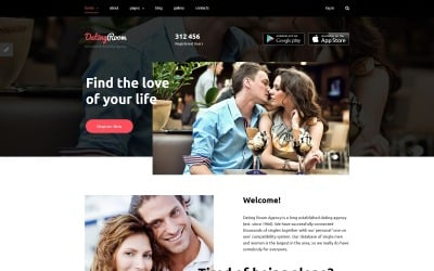 Joomla шаблон DatingRoom