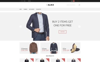 ALIKX Magento Theme