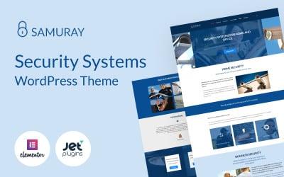 Samuray - Elementor-based security WordPress Theme