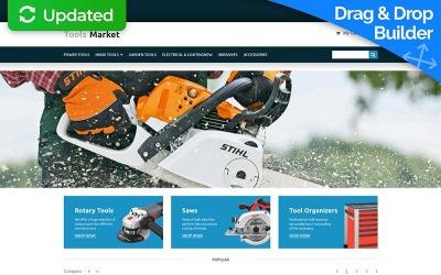 Tools & Equipment MotoCMS Ecommerce Template