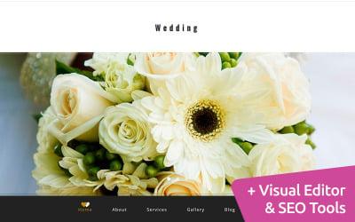 Wedding MotoCMS Website Template